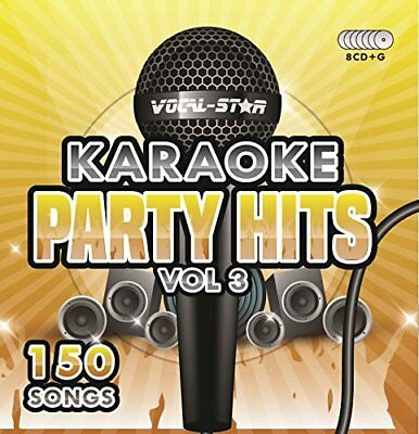 Karaoke Party Hits Vol 3 CDG CDG Disc Set - 150 Songs on 8 Discs Including The
