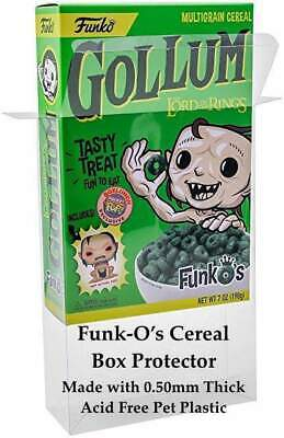 5 Pack Funko Pop! Cereal 0.50mm Plastic Box Protectors Case Fits All New Funkos