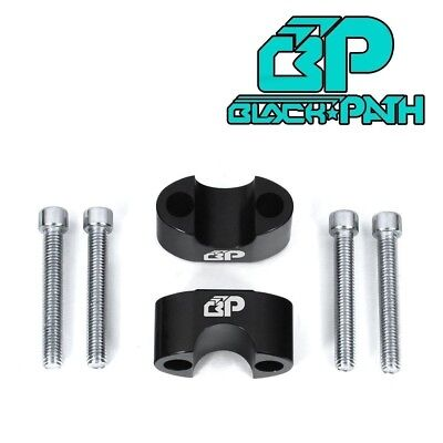 "BP 1987-2004 Yamaha Warrior 350 1"" Up Black Handlebar Riser Spacer Kit"