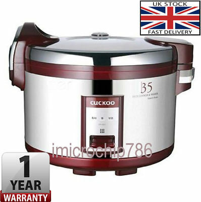 Rice Cooker 6.3 Ltr (35 Cups) 1 year Warranty - Heavy Duty