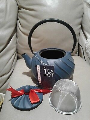 New without box ! 885ml Cast Iron Tea Pot Infuser Filter Vintage Tetsubin Kettle