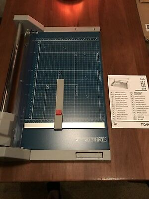 "DAHLE  _   Professional Rolling Paper Trimmer  14-1/8""  Brand New - Sealed   550"
