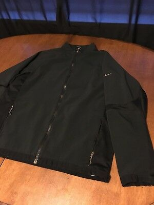 ef14e886a894 B35 NIKE Sphere Pro Jacket Wind Water Resistent DRI-FIT Golf Jacket sz L  Black