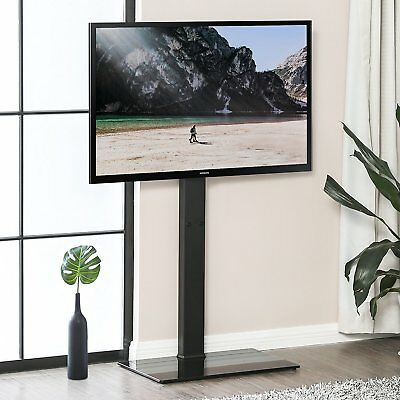 Tavr Media Component Tv Stand With Swivel Mount For 32 55 Led Led
