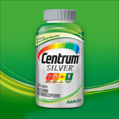 Centrum Silver Adults 50+ 325 Tablets (For Men and Women)