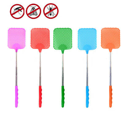 Fly Swatter Extendable Handle Creative Home  Fly Swatter Mosquito Kill