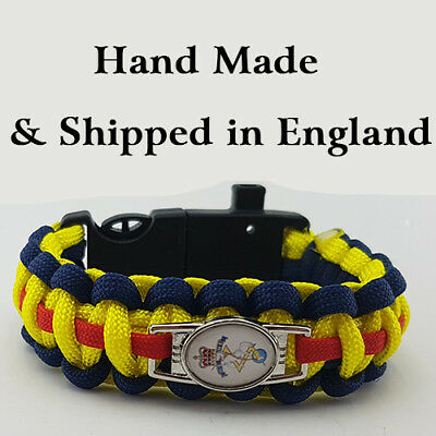 Royal Electrical and Mechanical Engineers (REME) Badged Survival Bracelet