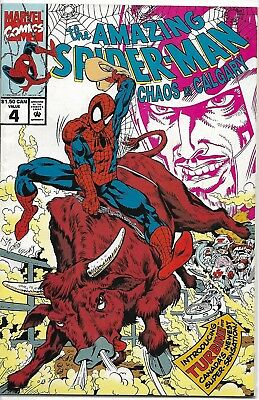 The Amazing Spider-Man #4 ~ Canadian Edition ~ VF/NM or Better ~ Charity