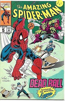 The Amazing Spider-Man #5 ~ Dead Ball ~ Montreal Expos ~ Canadian Edition ~VF