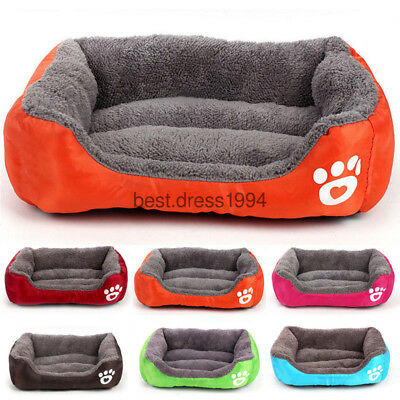 Large Pet Dog Cat Bed Puppy Cushion House Soft Warm Kennel Mat Blanket Washable*