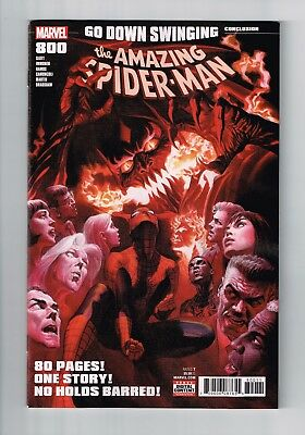 Amazing Spider-Man #800 Alex Ross Cover 1St Print Nm Or Better Red Goblin Hot!!!