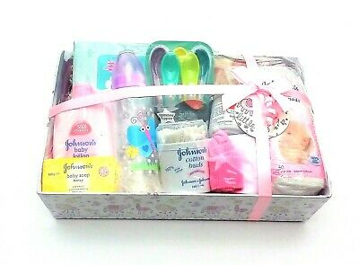 Baby Gift Hamper  - Gift Wrapped - Newborn - Baby shower - Cute -  Made to Order