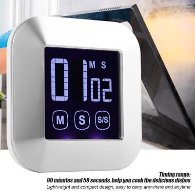 Touch Screen Kitchen LED Digital Timer Countdown Count Down Electronic Digital