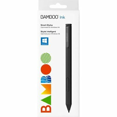 Wacom Bamboo Ink Pen Black Smart Stylus for Microsoft