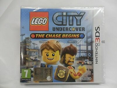 3DS LEGO CITY UNDERCOVER - THE CHASE BEGINS nintendo