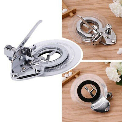 Alloy Fancy Flowers Embroidery Round Stitch Presser Foot Sewing Machine Tools