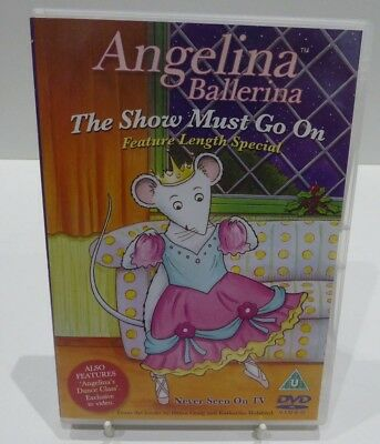 ANGELINA BALLERINA The Show Must Go On Feature Length