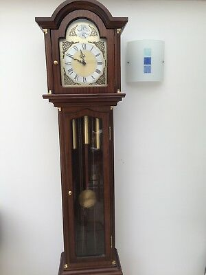Tempus Fugit Reproduction Long Case Grandfather Clock