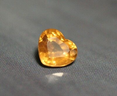 1ct Golden Yellow Malaya Garnet - Lovely Precision Cut Gem