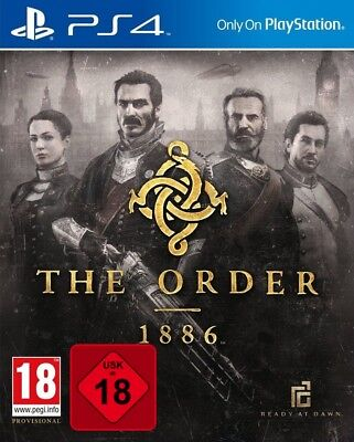 PS4 The Order: 1886 Nuovo e Conf. Orig. PLAYSTATION 4