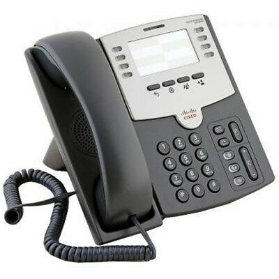 New Cisco Business SPA501G 8-Line IP Phone with 2-Port Switch PoE & Paper Label