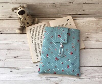 Children's Book Bag, Book Lover Gift, Book Sleeve, Book Gift, Book Bag, Nature