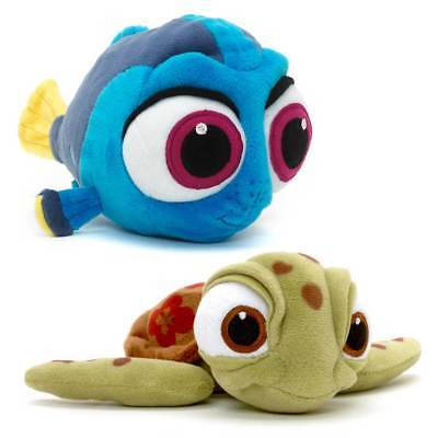 Official Disney Store Finding Dory Squirt Plush Soft Toy Beanies Teddy Nemo Baby