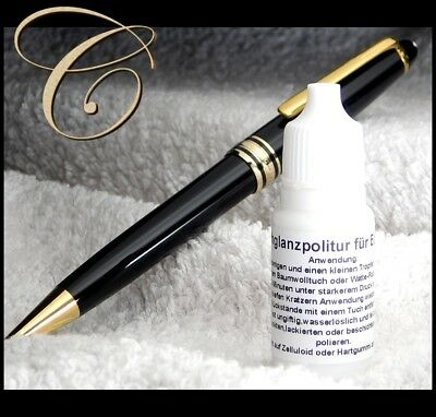 High gloss Precious Resin PEN POLISH for Montblanc Meisterstuck