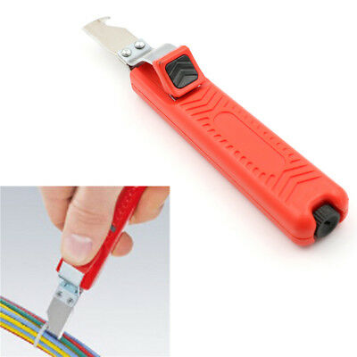 8-28mm Wire Stripper Knife Cable Stripping Tool Electrician Hand LJ
