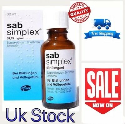 SAB SIMPLEX 30 ml ANTI COLIC DROPS FAST RELIEF FOR BABYS INFANTS DROPS