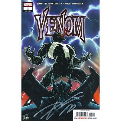 Venom #1 First Printing Signed By Donny Cates!!!