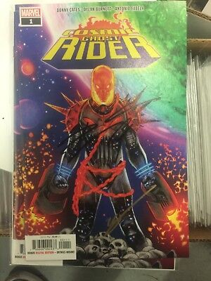 Cosmic Ghost Rider #1 First Printing Signed By Donny Cates And Geoff Shaw!!!