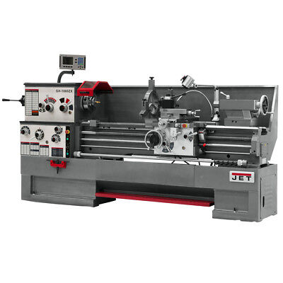 JET GH-1860ZX Large Spindle Bore Lathe With ACU-RITE 200S DRO & Collet Closer