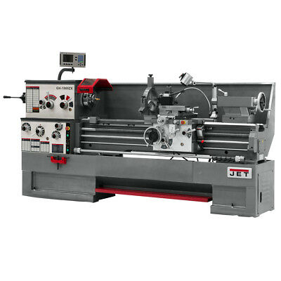 JET GH-1660ZX Large Spindle Bore Lathe With ACU-RITE 200S DRO & Collet Closer