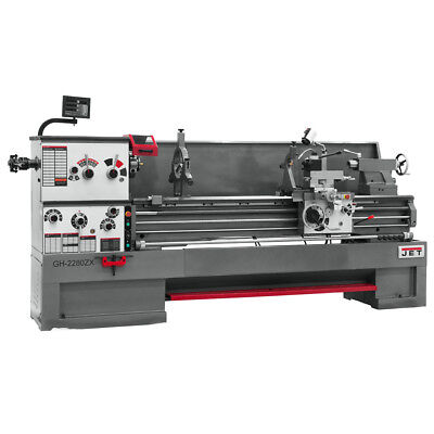 JET GH-26120ZH 4-1/8 Spindle Bore Geared Head Lathe With ACU-RITE 200S & Taper