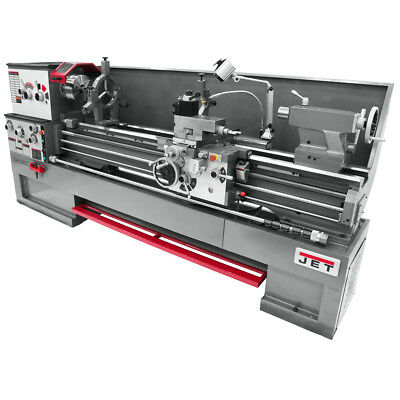 JET GH-2680ZH 4-1/8 Spindle Bore Geared Head Lathe With Taper Attachment