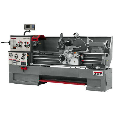 JET GH-1880ZX Large Spindle Bore Lathe With ACU-RITE 300S DRO & Collet Closer