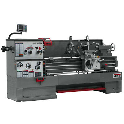 JET GH-2280ZX Large Spindle Bore Lathe With ACU-RITE 300S DRO & Taper Attachment