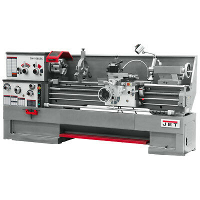 JET GH-1860ZX Large Spindle Bore Lathe With ACU-RITE 300S DRO & Taper Attachment