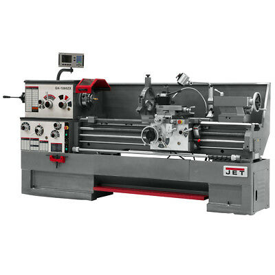 JET GH-1660ZX Large Spindle Bore Lathe With ACU-RITE 200S DRO & Taper Attachment