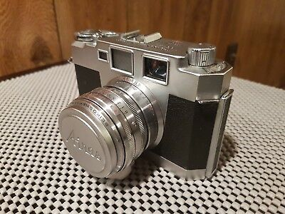 Vintage Aires 35-III L Camera Made In Japan, No 721055. Great Condition