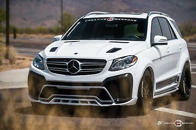 2017 Mercedes-Benz M-Class  2017 Mercedes-Benz GLE GLE 350 SUV BESPOKE RENEGADE wide body edition