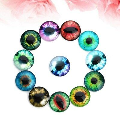 20pcs Realistic DIY Eyes Mixed Color DIY Animal Wiggle Toys Eyes for Kids Dolls