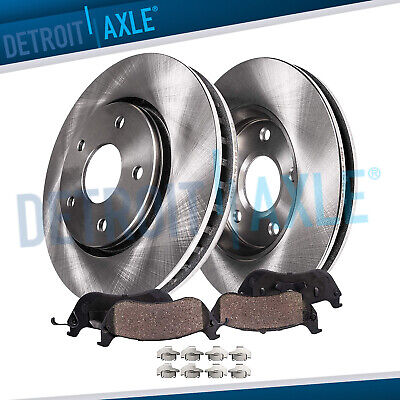 Front Rotors And Ceramic Pads For 2008 2009 2010 2011 2012 2013 Cadillac CTS