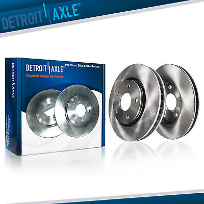 2X Front Discs Brake Rotors and 4X Pads For 2003 2004-2005 G35 Drill Slotted
