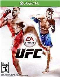 UFC: XBOX ONE video game - NO SCRATCHES - tested - with warranty
