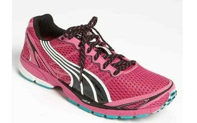 Puma Faas 500 S Womens Pink Mesh Lace Up Running Shoes Trainers 185161 18 D101