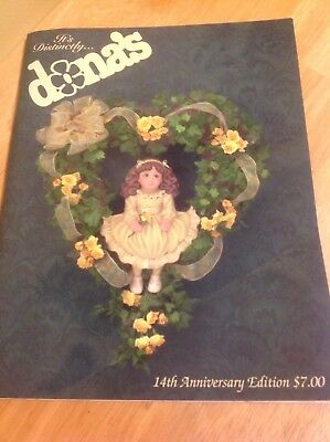 Dona's Ceramic Molds Catalog - 14th Anniversary Edition - 88 pages