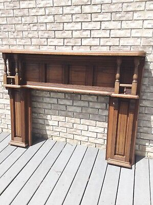 Victorian Fireplace Mantel/Mantle 1890s