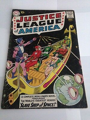 Justice League of America #3 (1961) 1st Appearance Kanjar Ro
